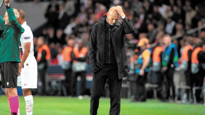Zidane face aux vents contraires après son pire naufrage au Real