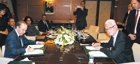 Signature d' un nouveau mémorandum entre le HCP et la Banque mondiale