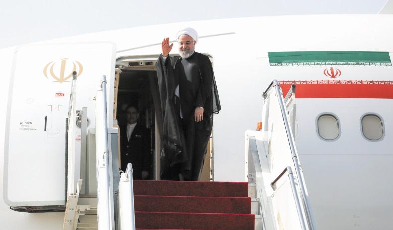 Le président iranien se rend à l'ONU en quête de soutien face à Washington