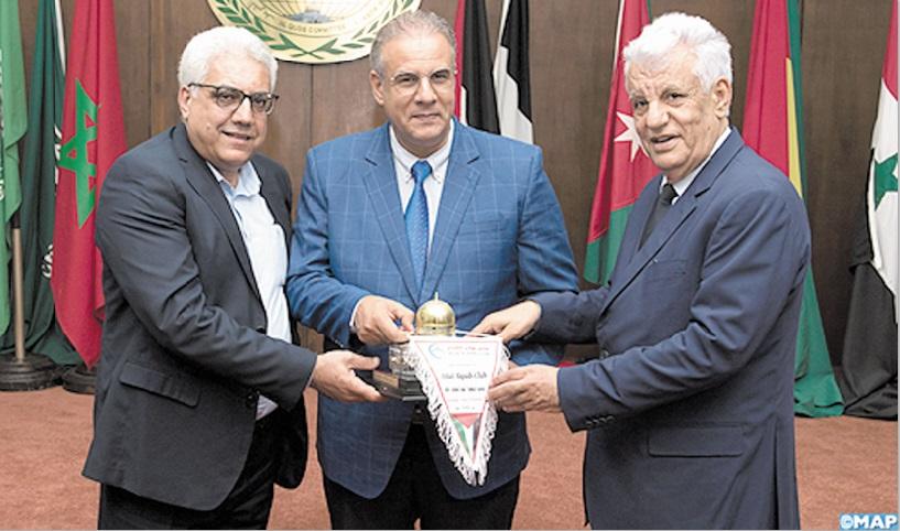Hilal Al-Qods reçu à l'Agence Bayt Mal Alqods Acharif