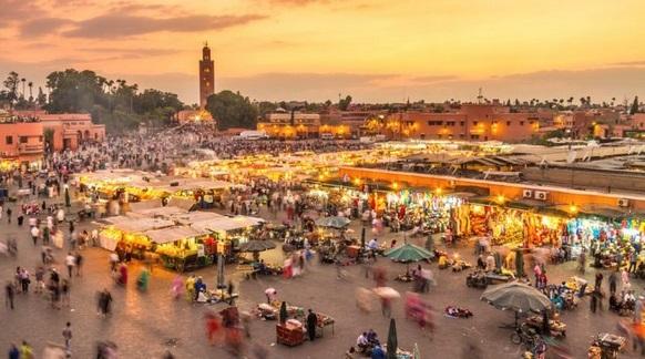 Le nombre des nuitées touristiques en hausse à Marrakech