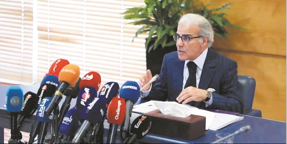 Abdellatif Jouahri, wali de Bank Al-Maghrib.
