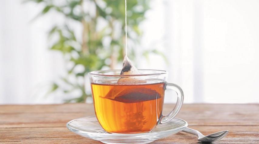 Un peu de plastique dans votre thé ?