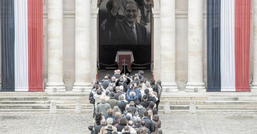 Les dirigeants du monde rendent un dernier hommage à Jacques Chirac