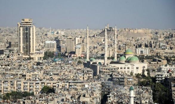 Une timide reconstruction à l'œuvre à Alep