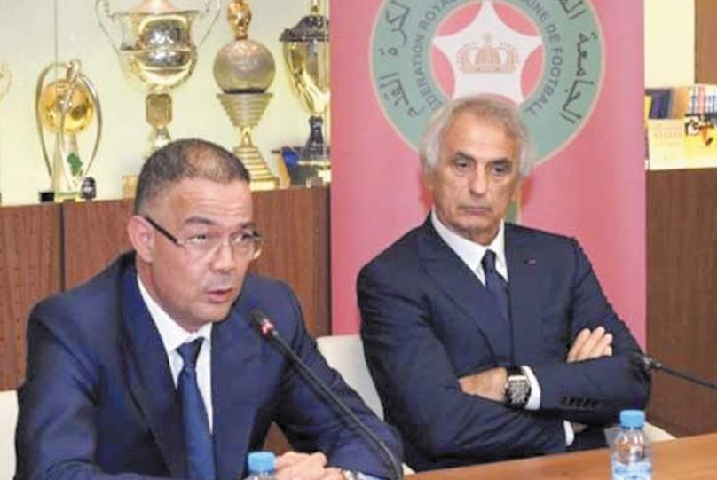 Réunion du Comité directeur de la FRMF : Lekjaa s'entretient avec Halilhodzic et Ammouta