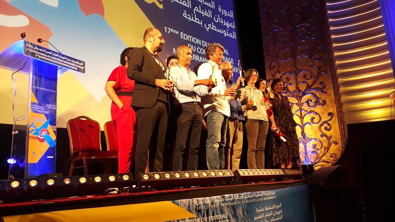 """""""Lourd fardeau"""" décroche le Grand Prix du Festival du court-métrage méditerranéen de Tanger"""