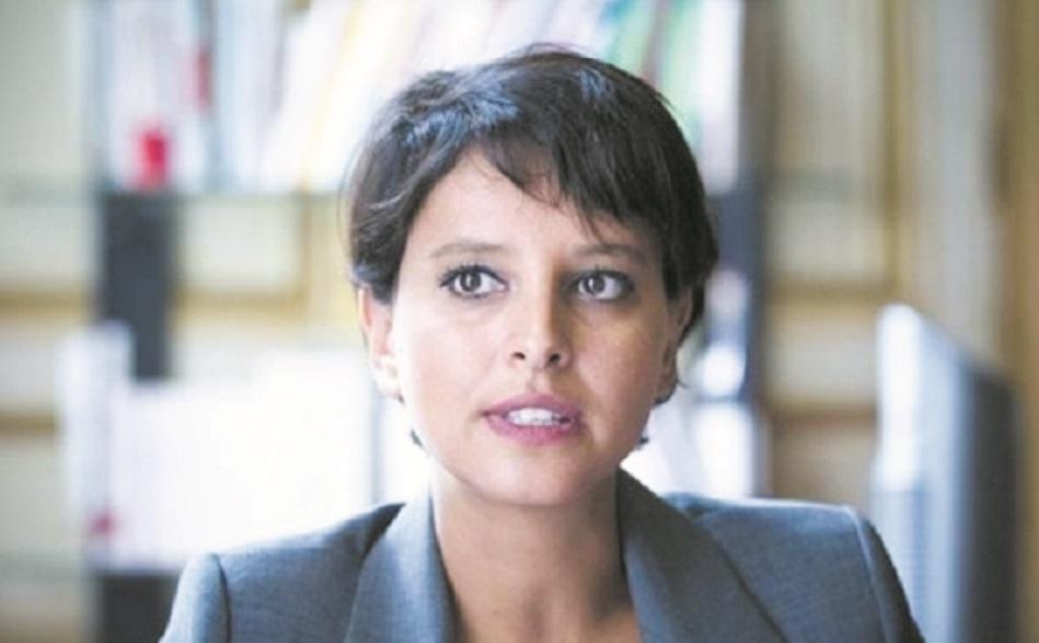 Najat Vallaud-Belkacem à Marrakech