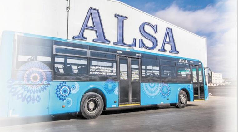 Les bus de Casa annoncés au goût d'Alsa