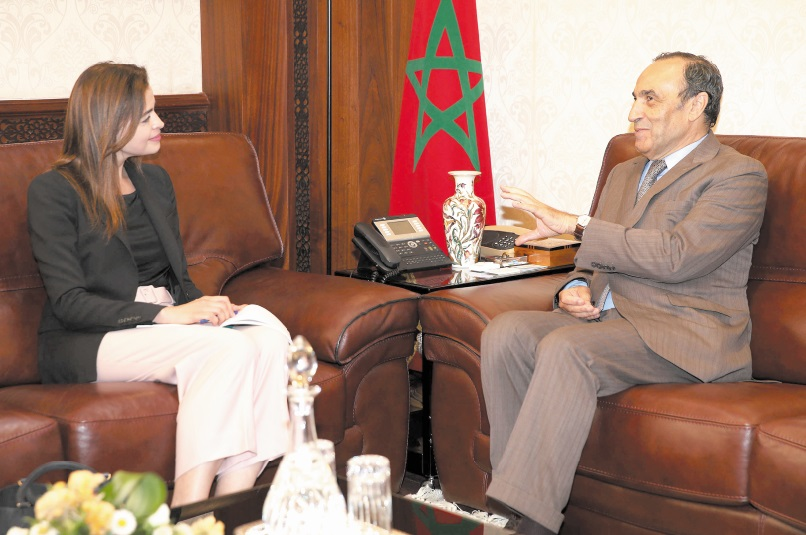 Habib El Malki s'entretient avec la directrice MENA de la Fondation Westminster pour la démocratie