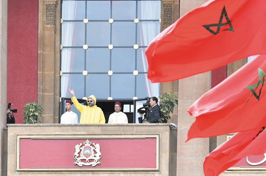 S.M le Roi prononce un discours à l'occasion de l'ouverture de  la 1ère session de la 4ème année législative de la 10ème législature
