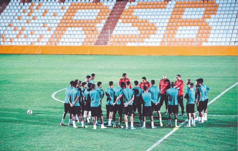 Ammouta se veut confiant avant le choc contre l'Algérie