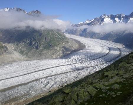 Les glaciers suisses ont diminué de 10% en 5 ans