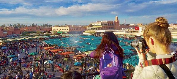 Les Français en tête des nuitées et des arrivées touristiques à Marrakech à fin août dernier