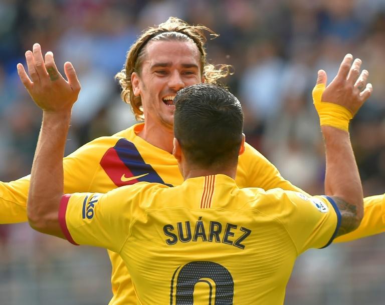 "Liga  Le trio ""GSM"" hisse Barcelone en tête, le Real dévisse"