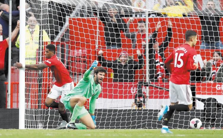 Premier League : Manchester met fin à la série victorieuse de Liverpool