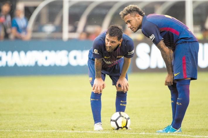 Les joueurs de Barcelone voulaient modifier leur contrat pour aider au retour de Neymar