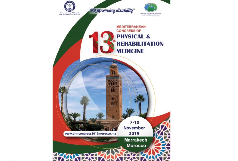 Les spécialistes de la médecine physique et de réadaptation en conclave à Marrakech