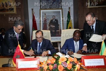 Signature d'un mémorandum d'entente entre la Chambre des représentants et l'Assemblée nationale de Sao Tomé-et-Principe