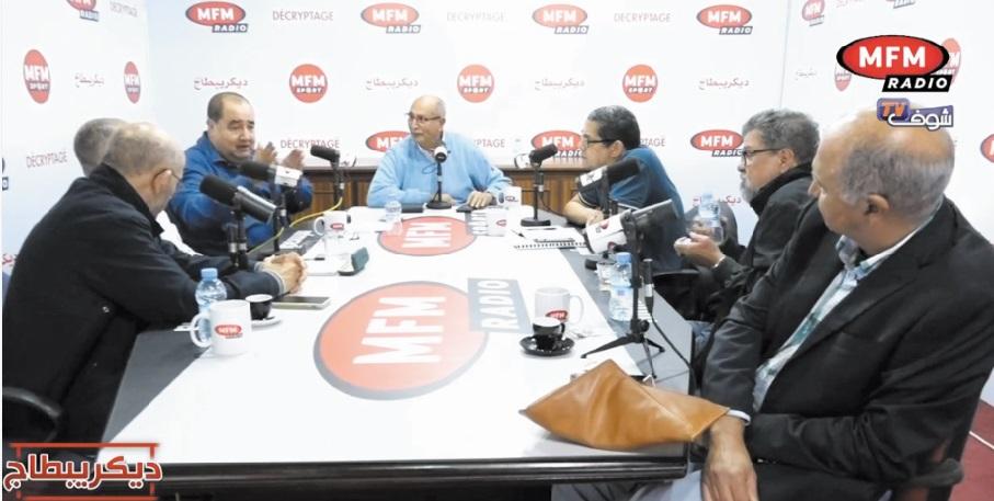 Lors de l'émission «Décryptage» de MFM Radio
