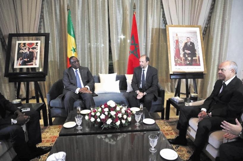 Visite à Tanger du président sénégalais