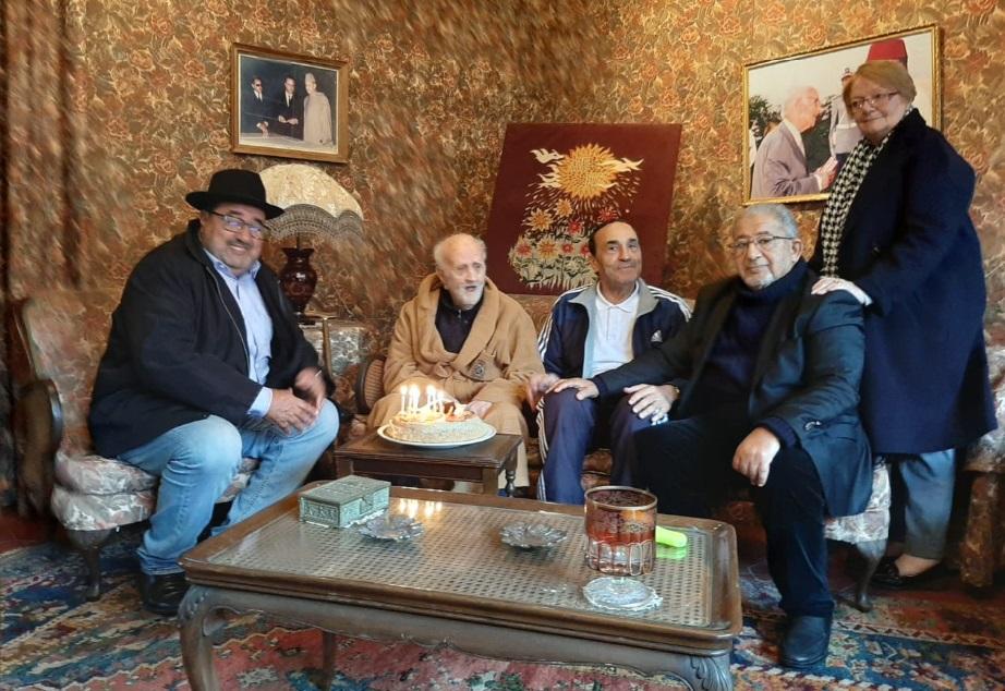 Driss Lachguar et Habib El Malki rendent visite à Mohamed Lahbabi