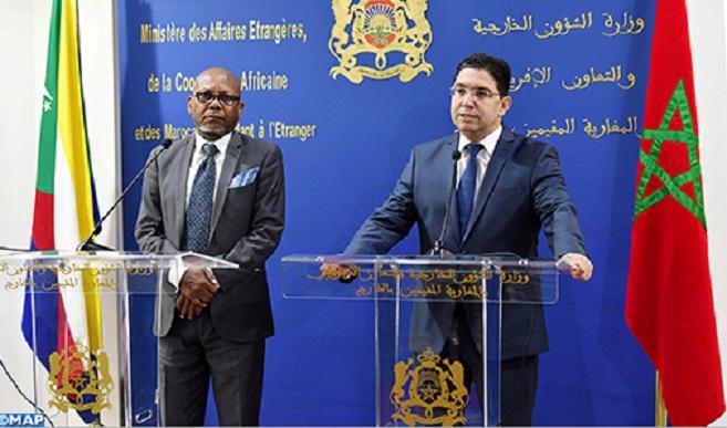 Prochaine ouverture à Laâyoune d'un consulat général des Iles Comores