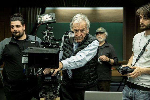 Le grand maître du cinéma européen, Costa Gavras, à la rencontre des étudiants marocains