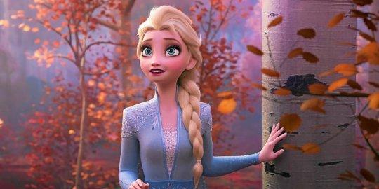 """Plus de deux millions d'entrées pour la première semaine de """"La Reine des neiges"""""""