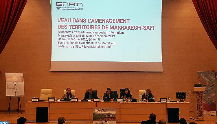 Focus sur l'eau dans l'aménagement des territoires de Marrakech-Safi