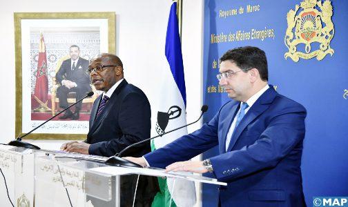 Le Lesotho suspend toutes les décisions et déclarations antérieures relatives au Sahara et à la pseudo-RASD
