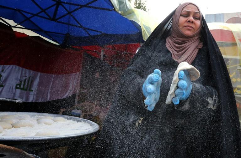 """A Bagdad, le campement autogéré de Tahrir est devenu un """"mini-Etat"""""""