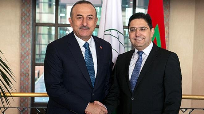 La Turquie réitère son soutien à l'intégrité territoriale du Maroc