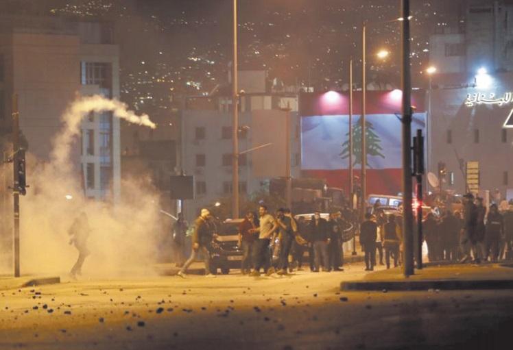 Des dizaines de blessés dans les heurts de samedi soir entre police et manifestants à Beyrouth