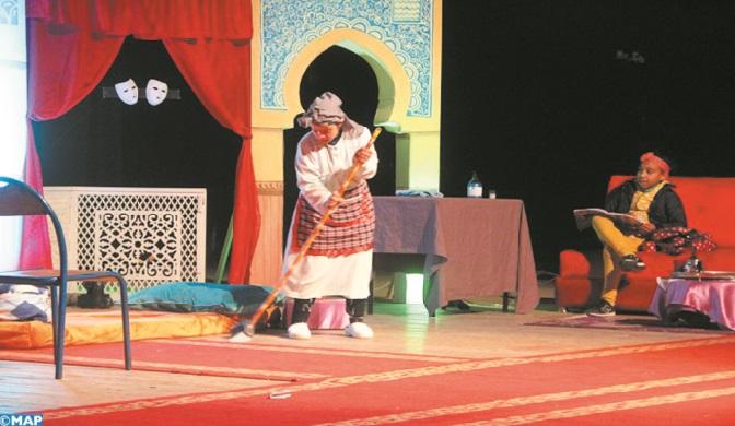 """Clôture à Fès du Festival """"Maison de théâtre et des arts du spectacle"""""""