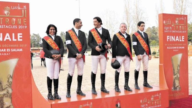 Coupe du Trône des clubs de saut d'obstacles : L'Etrier de Casablanca remporte le titre