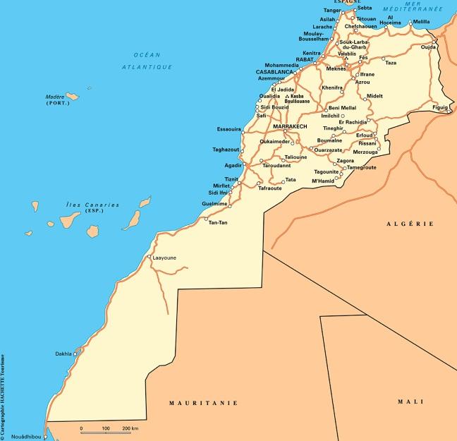 Le Maroc délimite ses frontières maritimes