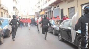 Arrestation de plusieurs personnes impliquées dans des actes de hooliganisme