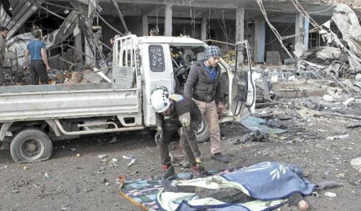 Idleb compte ses morts après des raids russes