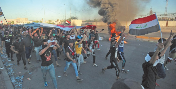 Les manifestations continuent de plus belle en Irak