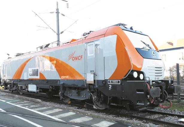 """L'ONCF réceptionne première locomotive électrique """"nouvelle génération"""""""