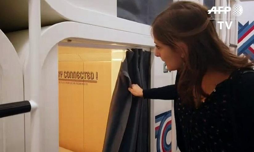 A Milan, on peut aussi dormir dans des capsules