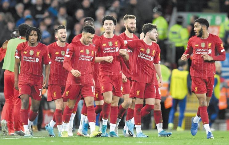 FA Cup: Exploit de l'équipe bis de Liverpool, Tottenham en berne