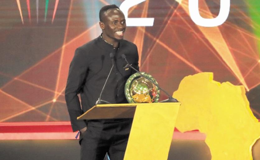 Sadio Mané meilleur joueur africain de l'année