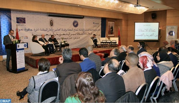 Débat à Casablanca sur le rôle de l'avocat au sein de la justice des mineurs