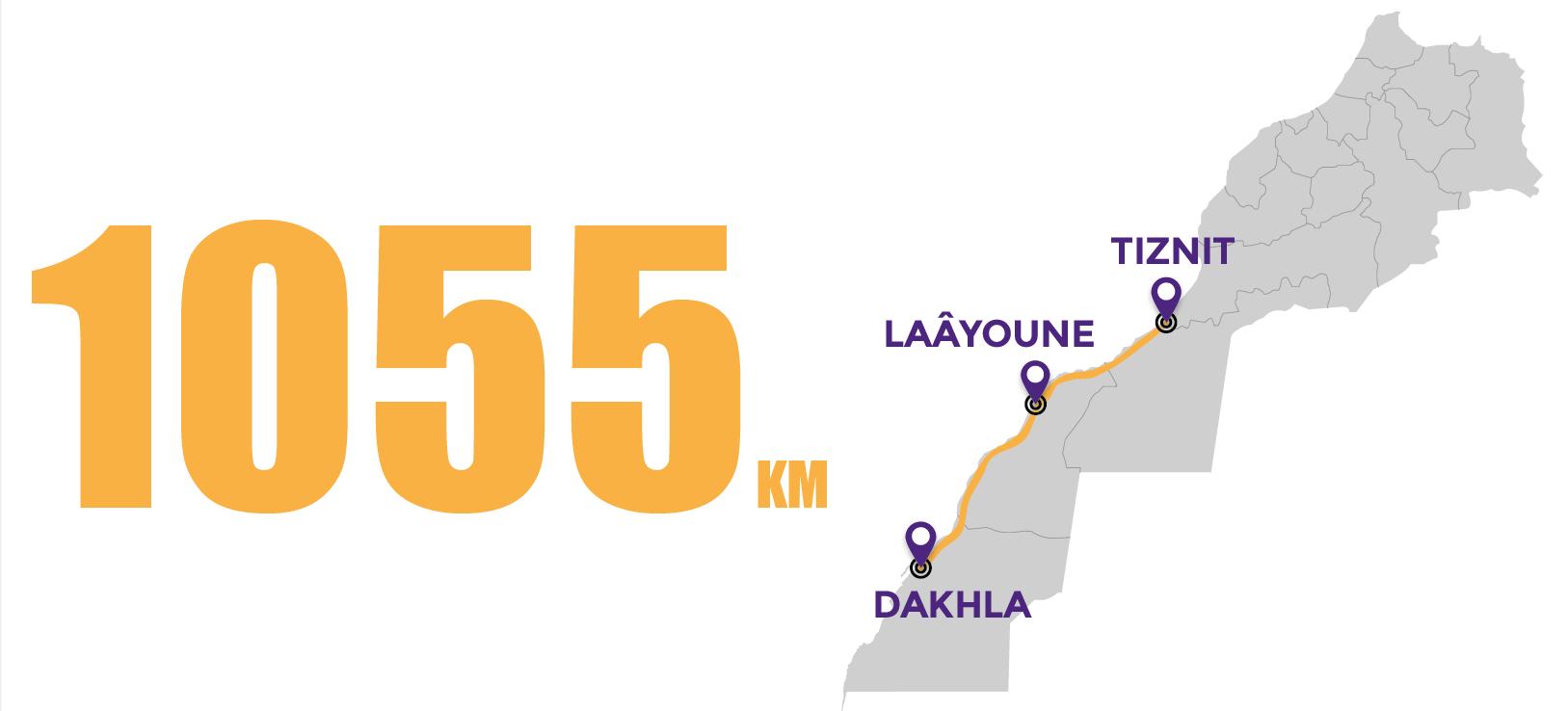 La voie express Tiznit-Dakhla sera réalisée dans les délais