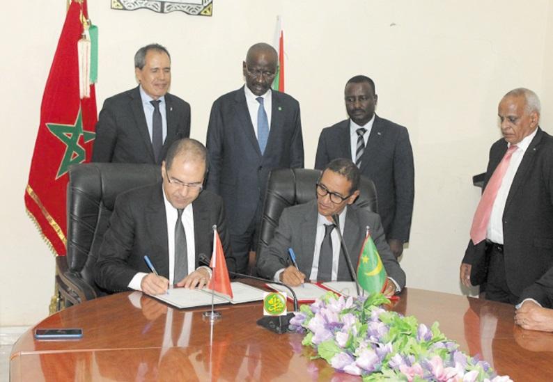 Accord maroco-mauritanien dans le domaine de l'administration territoriale