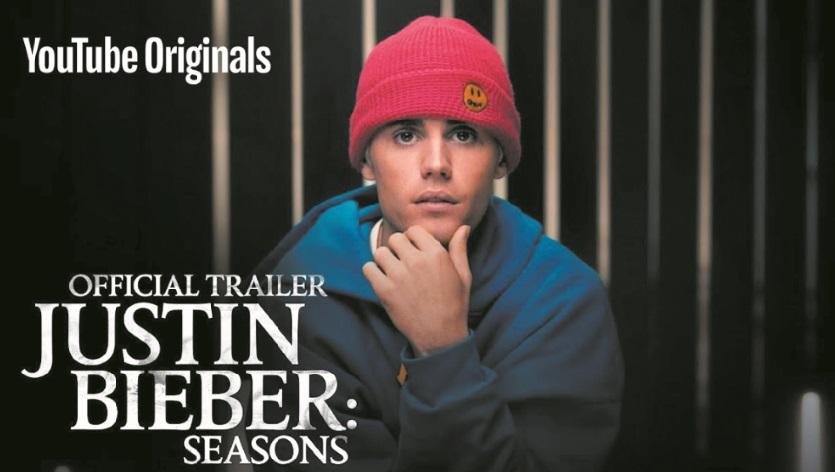 YouTube diffusera une série documentaire sur Justin Bieber