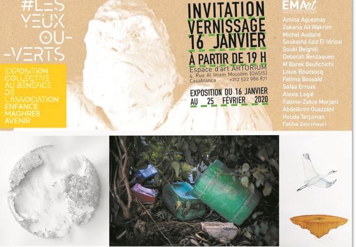 Vernissage à Casablanca d'une exposition sur la transition écologique