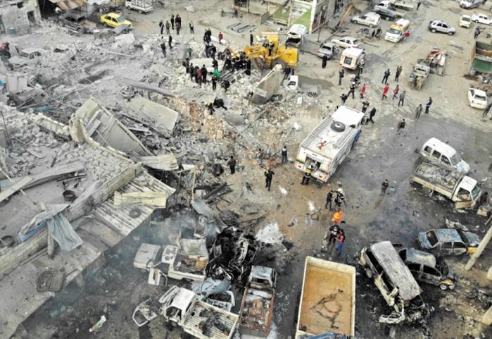Des dizaines de morts après la reprise de l'assaut du régime à Idleb